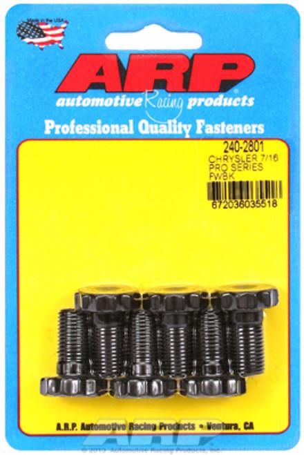 ARP 240-2801 Flywheel Bolt Kit - Mopar Slant 6/Small Block/Big Block Set of 6