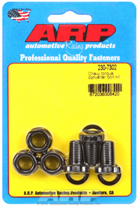 ARP 230-7302 Torque Converter Bolt Kit - TH350/TH400 with Aftermarket Converter