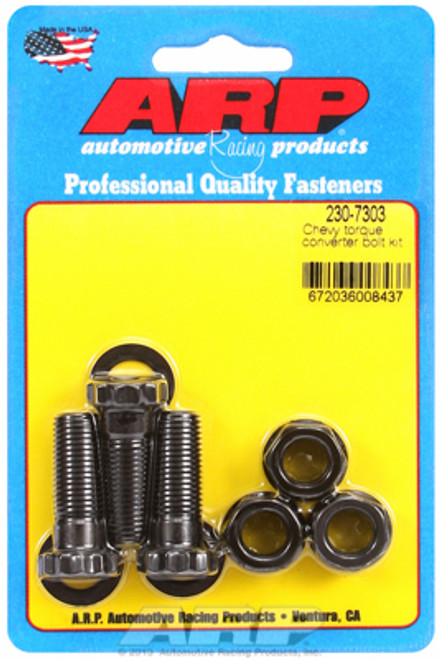 ARP 230-7303 Torque Converter Bolt Kit - TH350/TH400 with Aftermarket Converter