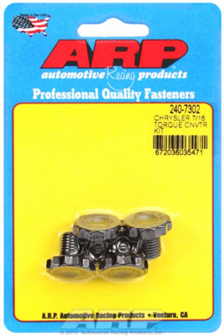 ARP 240-7302 Torque Converter Bolts Torqueflite 727/904 w/ Aftermarket Converter