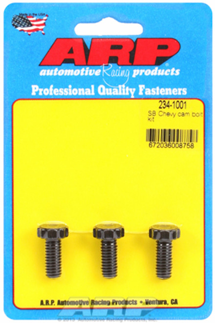 ARP 234-1001 Chevy Big Block/Small Block Camshaft Bolts - Set of 3 12-Point Head