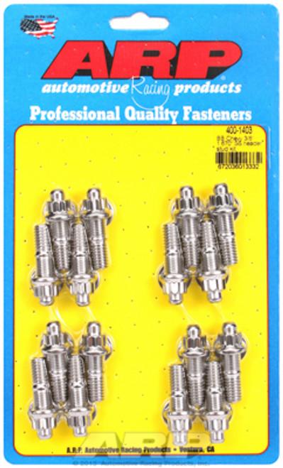 "ARP 400-1403 3/8"" Stainless Header Stud Kit  BBC/Ford 12-Point - 16pc 1.670"" UHL"