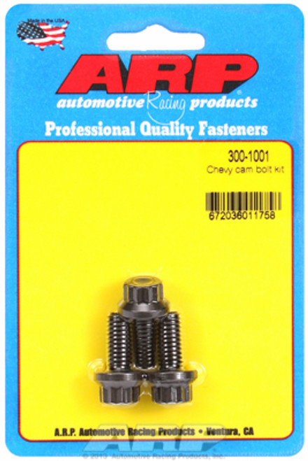 ARP 300-1001 Chevy Big Block/Small Block Camshaft Bolts - Set of 3 12-Point Head