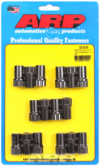 "ARP 300-8245 Perma-Loc Poly Lock Rocker Arm Adjuster Nuts - 7/16""-20 16 Pack"