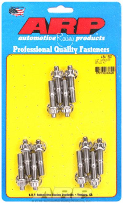 ARP 434-1301 Stainless Steel Header Stud Kit GM LS Engines LS1/LS2/LS3 4.8-7.0L