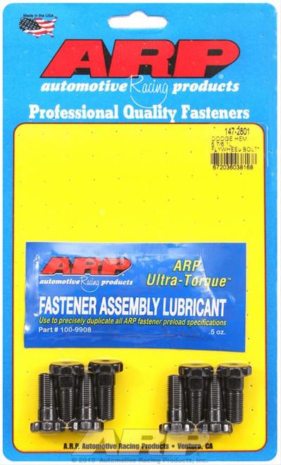 ARP 147-2801 Flywheel Bolt Kit Manual Trans Late Model 5.7/6.1/6.4 Hemi 12 Point