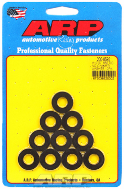 "ARP 200-8592 Chromoly Washers - 0.120"" Thick - 10mm ID - 0.850"" OD - 10 Pack"