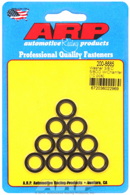 "ARP 200-8685 Chromoly Washers - 0.062"" Thick - 0.375"" ID - 0.625"" OD - 10 Pack"
