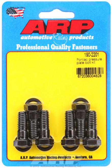 ARP 190-2201 Clutch Cover Pressure Plate Bolt Kit - Pontiac 350-455 V8 Set of 6