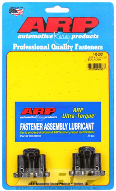 "ARP 146-2801 Flywheel Bolt Kit - Jeep 4.0L Inline 6 - 12 Point Head - 0.875"" UHL"