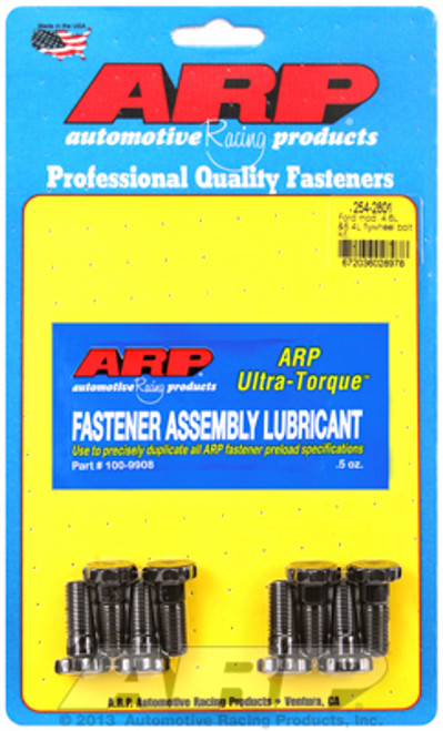 ARP 156-2801 Flywheel Bolt Kit 2011-Up Ford 5.0L Coyote Engine M10x1.0 Set of 8
