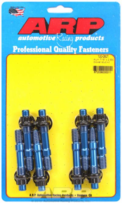 ARP 100-0601 Blower to Manifold Break-Away Stud Kit - Weiand 6-71 - 14-71 - Blue