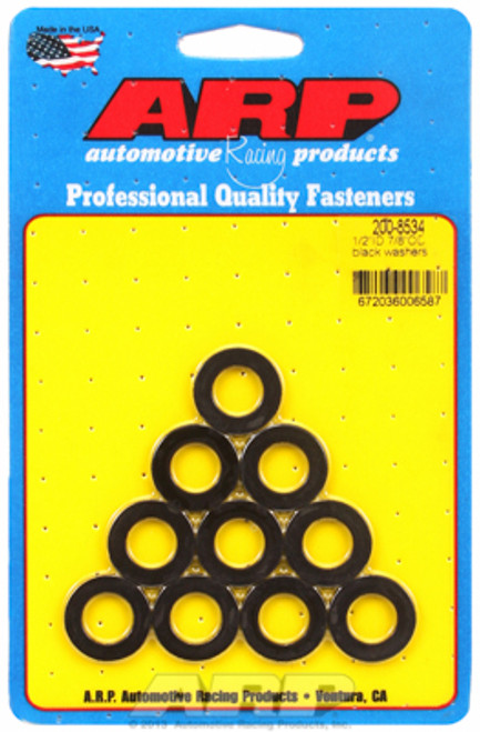 "ARP 200-8534 Chromoly Washers - 0.120"" Thick - 0.500"" ID - 0.875"" OD - 10 Pack"