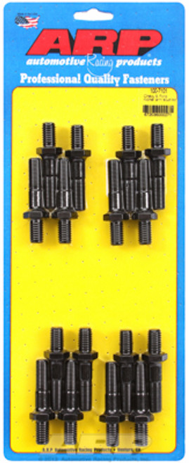 "ARP 100-7101 Rocker Arm Stud Kit - 7/16""-20 Thread - 1.900"" Height - Set of 16"