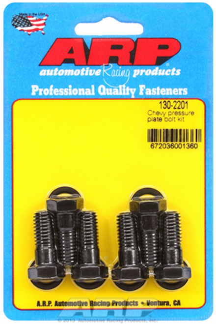 ARP 130-2201 Pressure Plate Bolts - Chevrolet Small Block/Big Block - Hex 6 Pack