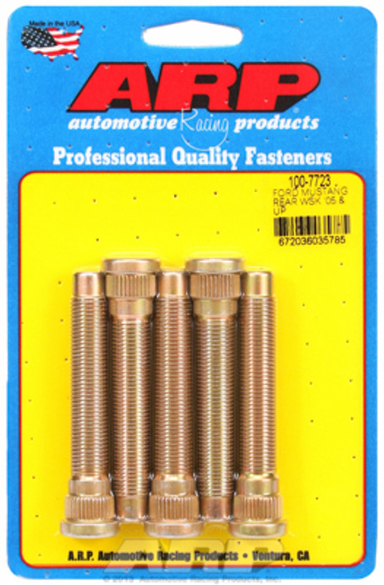 "ARP 100-7723 Extended Wheel Studs 05-Up Mustang 1/2""-20 - 3.115"" UHL .615"" Knurl"