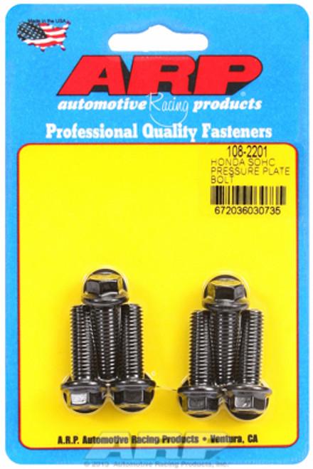 ARP 108-2201 Honda SOHC D-Series Pressure Plate Bolt Set - M8x1.25 Set of 6