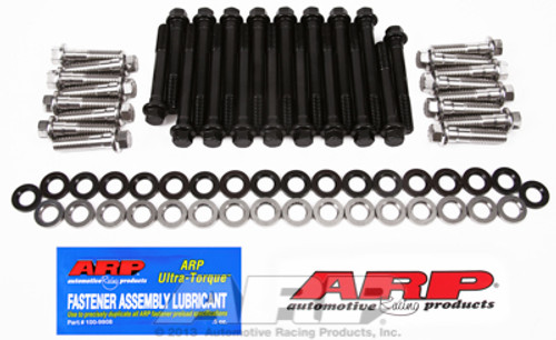 ARP 134-3603 Head Bolt Kit - Small Block Chevy with SS Outer Bolts - Hex Head