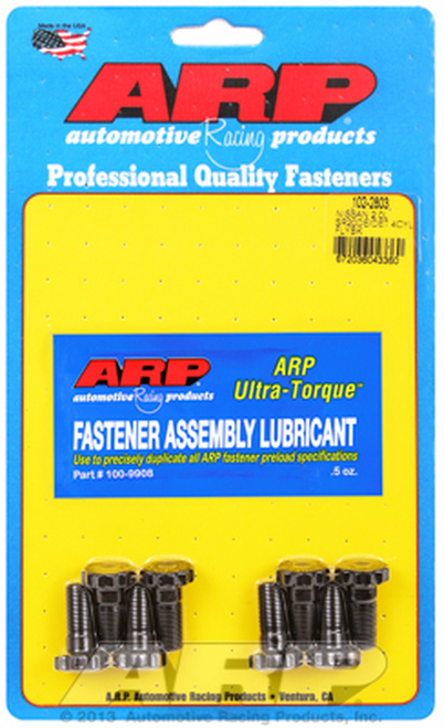 ARP 102-2803 Flywheel Bolt Kit - Fits Nissan SR20DE/SR20DET 2.0L - M10 x 1.0