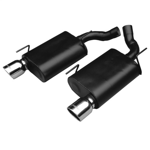 Flowmaster 17410 American Thunder Axle Back Exhaust System Fits 05-10 Mustang