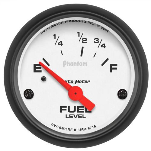 AutoMeter 5715 Phantom Electric Fuel Level Gauge