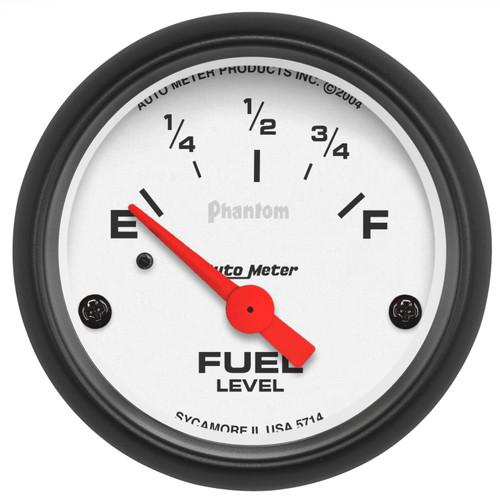 AutoMeter 5714 Phantom Electric Fuel Level Gauge