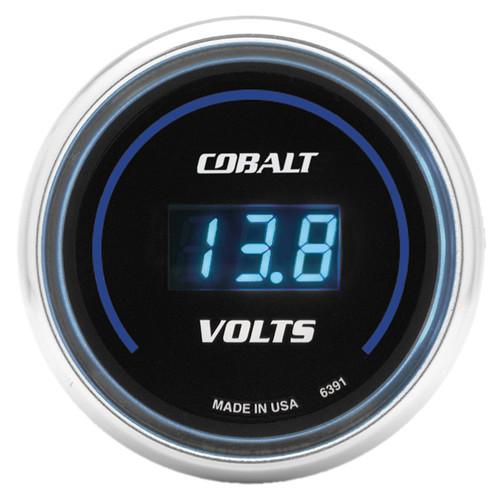 AutoMeter 6391 Cobalt Digital Voltmeter Gauge