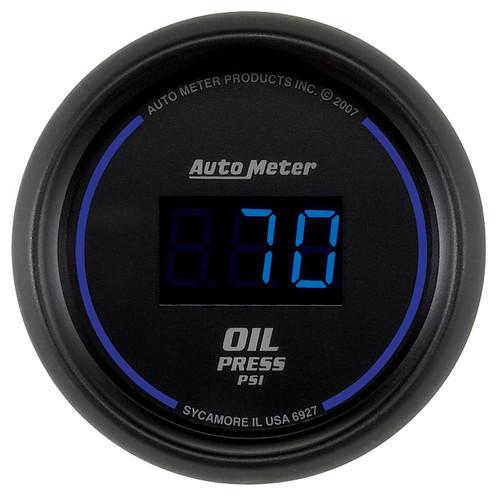 AutoMeter 6927 Cobalt Digital Oil Pressure Gauge