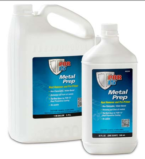 POR-15 40201 Metal Prep Rust Remover/Pre-Primer Gallon - Etches Metal for POR-15