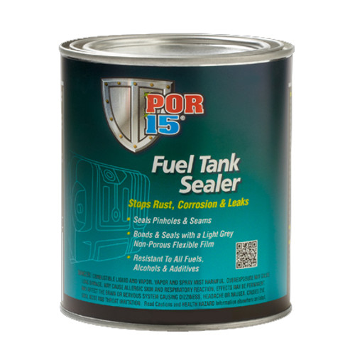 POR 15 49204 POR-15 Fuel Tank Sealer - Repairs & Seals Rusted Gas Tanks - Quart
