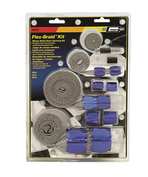 Mr Gasket 8091 Flex-Braid Hose Sleeving Kit