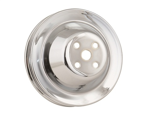 Mr Gasket 4971 Chrome Plated Steel Water Pump Pulley