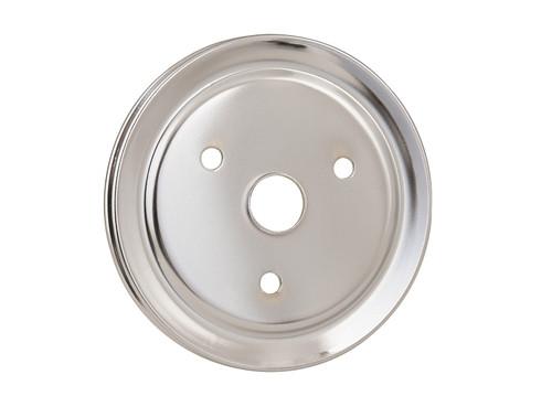 Mr Gasket 4972 Chrome Plated Steel Crankshaft Pulley