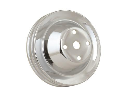Mr Gasket 4975 Chrome Plated Steel Water Pump Pulley