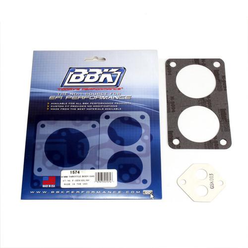 BBK Performance 1574 Throttle Body Gasket Kit Fits 87-96 F-150 F-250 F-350