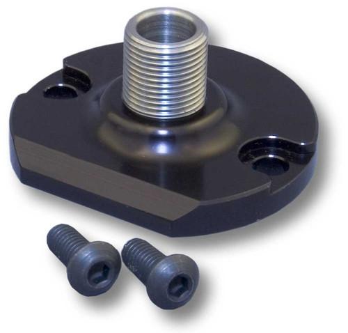 CVR OFA65 Billet Oil Filter Mount/Bypass Eliminator Small/Big Block Chevy
