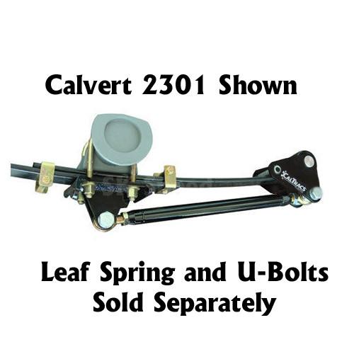Calvert Racing 2401 CalTrac Low Profile Traction Bars - 1970-81 Camaro/Firebird