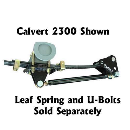 Calvert Racing 2100 CalTrac Leaf Spring Traction Bars - 1955-57 Chevy Bel Air