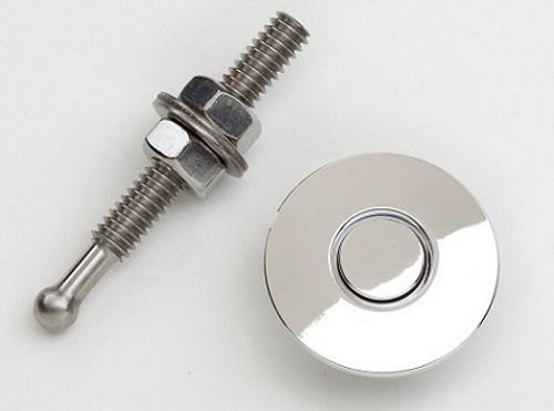 Quik Latch QL-25-SP Mini Quik Latch Fastener - Billet  - Polished - Each