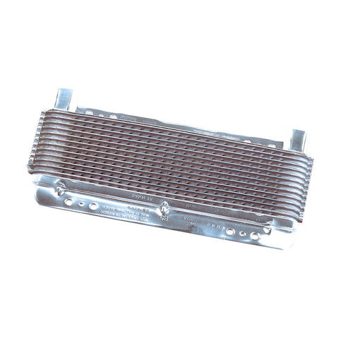B&M 70265 Polished SuperCooler Automatic Transmission Oil Cooler