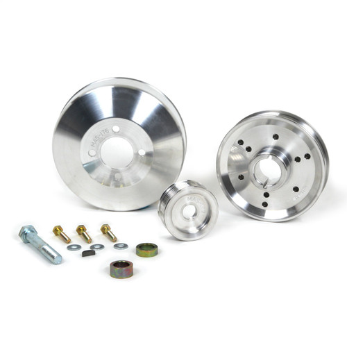 BBK Performance 1555 Power-Plus Series Underdrive Pulley System Fits Mustang