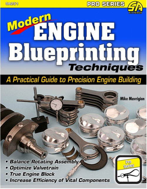 SA Designs SA251 Book - Modern Engine Blueprinting Techniques: A Practical Guide