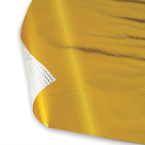 """DEI 010391 Reflect-A-GOLD Adhesive Backed Heat Barrier 12""""x12"""" Sheet 825 Degrees"""