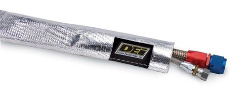 "DEI 010403 Heat Sheath Aluminized Heat Sleeving - 3/4"" Diameter - 36"" Long"