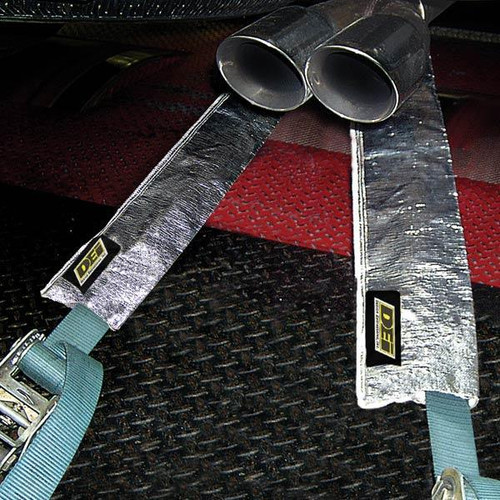 """DEI 010466 Dyno Tie Down Strap Heat Shield - 36"""" Long x 5"""" Wide - Sold Each"""