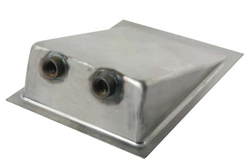 """Competition Engineering C4041 Universal Fuel Tank Sump - Weld On (2) 1/2"""" Ports"""