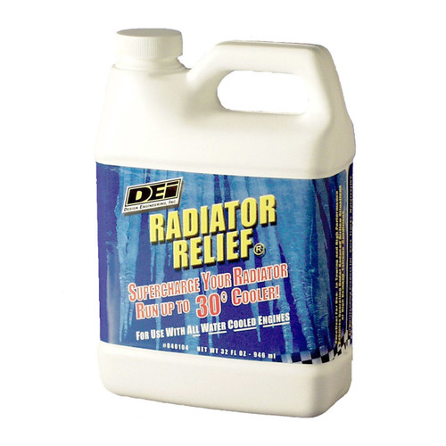 DEI 040104 Radiator Relief Coolant Additive - 32 oz Up to 30 Degree Drop