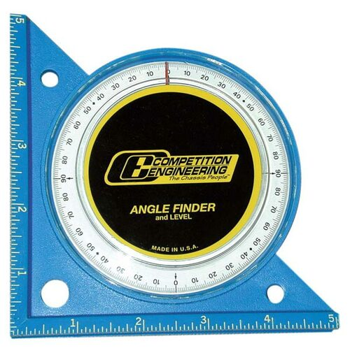 Competition Engineering C5020 Professional Angle Finder & Level - ABS Plastic