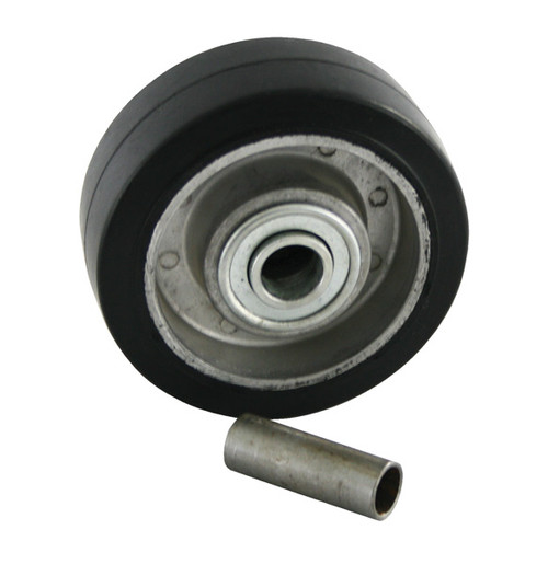 """Competition Engineering C7058 Replacement Wheel-E-Bar Wheel - Rubber - 1/2"""" Hole"""