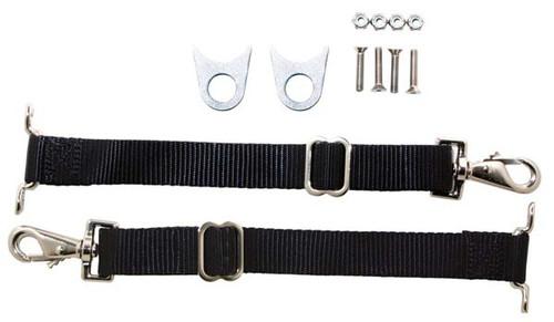 Competition Engineering C4931 Adjustable Door Limiter Strap Kit for 2 Doors
